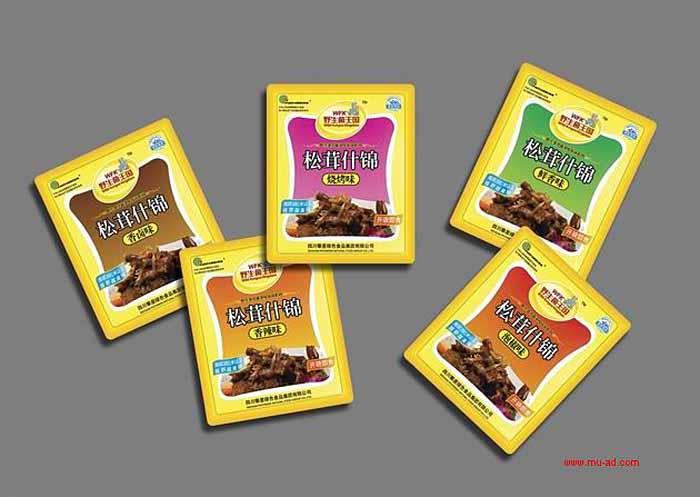 野生菌精品山珍包装设计-食品包装设计系统