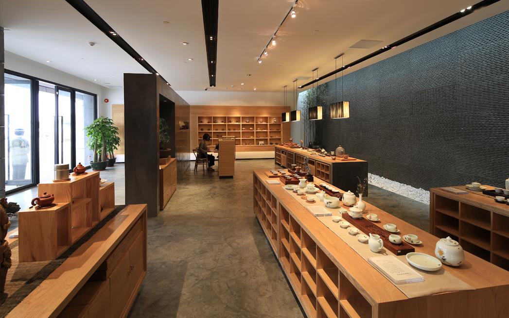 九道茶学社品牌形象设计-茶空间茶si设计